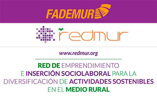 Cartel del programa Redmur en el que se enmarca la feria