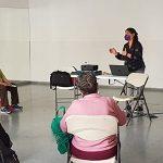 Primer taller presencial, celebrado en Arafo (Santa Cruz de Tenerife) de esta segunda edición del programa de FADEMUR para un envejecimiento saludable de la población canaria.